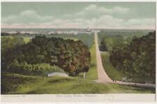 The Long Walk, Windsor Castle F.G.O. Stuart 827 Postcard #2 B804