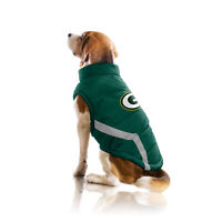 Green Bay Packers NFL Little Earth Production Dog Pet Puffer Vest Sizes S-3XL
