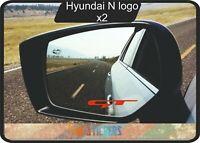 Kia GT logo  autocollant stickers X 2 - couleur au choix