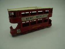 Rare Lesney NEWS OF THE WORLD TRAMWAY N°3 London Transport Best Sunday Paper