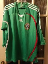 Mexico adidas clima365 Soccer Futbol Jersey Adult XL CLIMACOOL 2018 World Cup