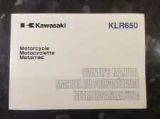 KAWASAKI KLR650 OWNERS MANUAL HANDBOOK 999761061 KL650-C8