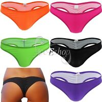 Women Lingerie Thong Briefs Cheeky Bottom Underwear Bathing Wear Bikini Swimwear