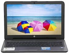 "HP 15.6"" Intel Core i3-6100U 2.3 GHz 8GB RAM 1TB HD DVD RW Windows 10 Silver LN"