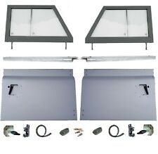 SERIES TYPE 2 PIECE FRONT DOOR TOPS BOTTOMS +CAPPINGS  FOR LAND ROVER DEFENDER