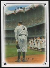 2007 UD MASTERPIECES #2 BABE RUTH