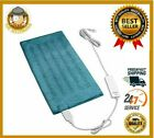 Electric Heating Pad For Back Pain Relief Ultra Soft Moist Dry Heat King Size