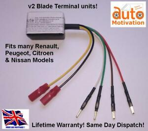 "Renault Megane Electric Window Module Unit ECU Replacement ""Blade Terminals"""