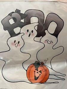 Vintage Daisy Kingdom Iron On Transfer Spooky & Bright Ghost Halloween Design
