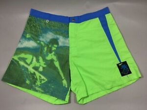 Vintage Deadstock Made In USA GOTCHA AQUATECH SURF SHORTS sz 34 Mens S1