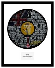 OASIS - MEMORABILIA - CHAMPAGNE SUPERNOVA - VINYL RECORD ART - ideal Gift