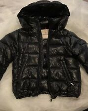 Authentic Moncler Coat Warm Midnight Blue Size 6 Preowned Great Condition