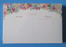 Delightful Days pack 50 RECIPE CARDS Legacy floral bridal shower gift