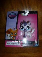 Littlest Pet Shop BIRMA BLUEPOINT #66 Single Pack Birman Cat White Purple