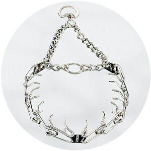 Herm Sprenger Polished Chrome Ultra Plus Prong Collar Swivel D Ring 3.2mm