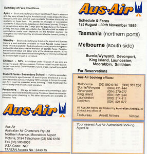 AUS-AIR  AIRLINES AUSTRALIA