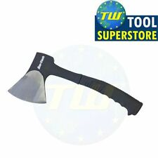Solid Forged Camping Wood Axe Hatchet Chopper with Blade Guard Kindling Splitter