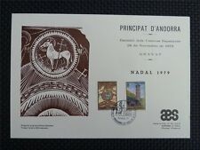 Andorra 1979 nadal Christmas Especiales hoja carta filatelica only 300 pieces!!! z797