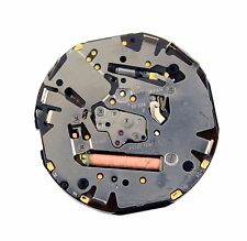 Seiko 8F32A Quartz Watch Movement With Black Date For Parts