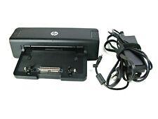 HP EliteBook Docking Station HSTNN-I11X 581597-001 + Power Adapter