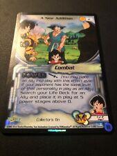 Dragon Ball Z CCG A New Addition #2!! Collector Tin Promo!!