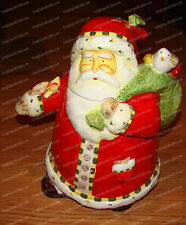Gibson Santa with Friends Cookie Jar (2003 designed by Debi Hron) 46991-01