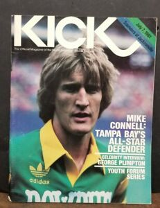 Mike Connell KICK SOCCER MAGAZINE July 7, 1981