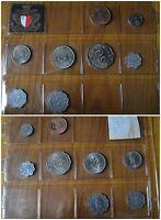 LOTTO 8 MONETE MALTA 1 2 5 10 50 CENT 2 3 5 MILS 1972 SUBALPINA