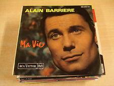 45T EP / ALAIN BARRIERRE - MA VIE