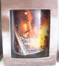 Disney Pirates of the Caribbean COTBP SUPER RARE 5 Shotglass Glasses PROMO Set