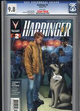 Valiant Entertainment: Harbinger 2 CGC 9.8 w 2012 FREE SHIPPING