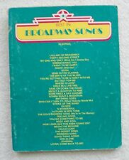 36 Best Broadway Songs Voice Piano Guitar Unmarked