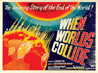When Worlds Collide (1951) Science Fiction cult movie poster print 3