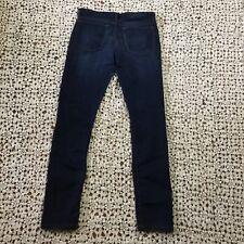 Banana Republic Womens Jeans 6 or 28 Long Skinny Dark Wash Blue Denim