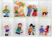 Ü Ei - Konvolut aus 12 alten Figuren aus den 70er Jahren