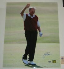JACK NICKLAUS Signed 16x20 PHOTO w/ STEINER COA