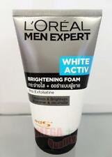 Loreal Men Expert WHITE ACTIVE BRIGHTENING FOAM Face Wash Cleansers 100ml.