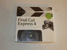 NEW Apple Final Cut Express 4 HD Upgrade French MB339F/A Software