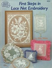 First Steps in Net Lace Embroidery Darning Patterns Beginner Rita Weiss ASN 3031
