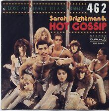 """SARAH BRIGHTMAN & HOT GOSSIP - I lost my heart VINYL 7"""" 45 LP ITALY 1978 VG+/VG-"""