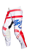MX Gear-JT Racing USA Flex Hi-Lo Pants, White/Red/Blue