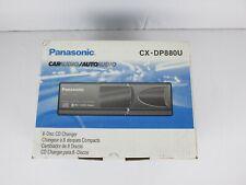Panasonic Automotive 8 CD Changer Model CX-DP880U Car Audio NIB NOS Old School