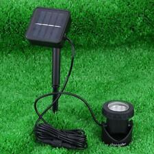 LED Solar-powered Spotlight Outdoor Garden Pool Waterproof Light Lamp Dustproof