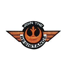 Disney Star Wars Join the Resistance Patch Officially Licensed Iron-On Applique
