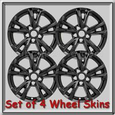 "4 Black Equinox Wheel Skins Hubcaps 17"" 2016-2017 Chevy, Chevrolet Wheel Covers"