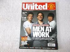 Manchester United Magazine Issue #189 April 2008 Carrick Hargreaves Park Manucho