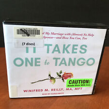 It Takes One to Tango Audio Book CD Set Winifred M. Reilly Marriage Advice Guide