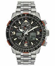 Citizen JY8108-53E Men's Promaster Skyhawk Titanium Watch - Silver/Black