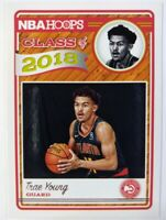 2018 18 Panini NBA Hoops Class of 2018 Trae Young Rookie RC #5, Atlanta Hawks