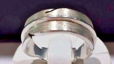 Very Rare! Sterling Silver J.G. Koschtial Feather Ring Size 10.5